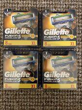 4 x Gillette Fusion5 Proglide Power Razor Blades 8 Pack XL
