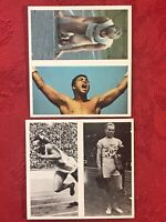 BROOKE BOND OLYMPIC CHALLENGE-MUHAMMAD ALI-JESSE OWENS-2 DOUBLES PART SET-NRMINT