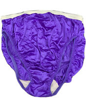 VENEZIA Panties Silky Sissy Shiny Nylon Made USA Knickers Bubble Second Skin