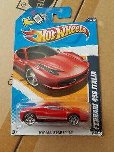 Hot Wheels Ferrari 458 Italia HW ALL STARS '12