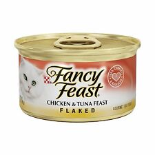 Purina Fancy Feast Flaked Gourmet Wet Cat Food - (24) 3 oz. Can... Free Shipping
