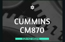 CUMMINS CM870- EGR/ VGT