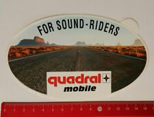 Aufkleber/Sticker: quadral mobile - For Sound-Riders (180417132)