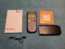 Texas Instruments Ti-89 Titanium Graphing Calculator bundle