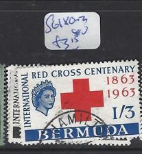 BERMUDA (P0404B)  QEII RED CROSS, FFH  SG 180-2  VFU