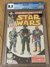Star Wars #42 CGC 8.5 1st Boba Fett