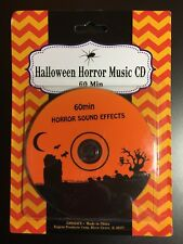 HALLOWEEN HORROR SOUND EFFECTS MUSIC CD BRAND NEW SPOOKY PARTY DISC