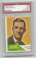 Sammy Baugh 1960 Fleer Card # 20, PSA - NM - 7 (OC). New York Titans