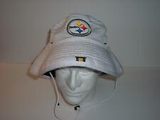 New listing Pittsburgh Steelers New Era NFL Bucket Hat Cap  NEW NWT L/XL