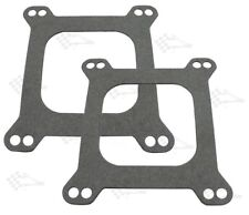 Carb Base Gasket - 2 Pack - 4 bbl Square Flange - Open Centre - Holley Edelbrock