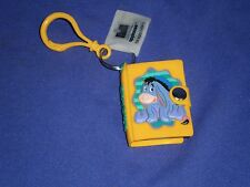 Vintage Disney Winnie The Pooh Pal Eeyore Mini Notebook Key Chain/Pull Applause