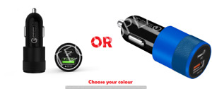 Car Charger For iPhone 12 Pro Max 11 XR XS SE Fast Charge PD Type C USB Adapter