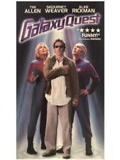 Galaxy Quest Movie Vhs Tape Tim Allen, Sigourney Weaver, Alan Rickman