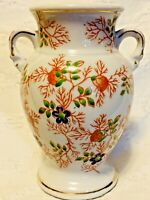 Vintage Trico Handpainted Made In Japan Small Porcelain Flower Vase BEAUTIFUL!