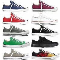 Converse Chuck Taylor All Star Ox Sneaker da Uomo Scarpe Ginnastica Basse