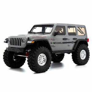 1/10 AXIAL SCX10 III Jeep JLU Wrangler with Portals RTR, Gray