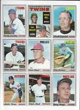 ***1970 Topps 3rd Series Baseball PICK LOT-YOU Pick any 2 of 85 cards for $1!