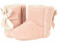Crib UGG Australia Jesse Bow II Boot 1018452I Baby Pink 100% Authentic Brand New