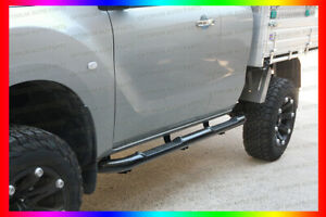 Running Boards Black Side Steps For FORD Ranger PX PX2 PX3 2012-2020 Extra Cab