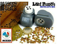Green Stuff World Grey Leaf Punch - Creates 1:35, 1:43, and 1:48 Scale Leafs