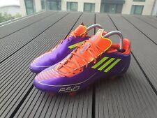 Adidas F50/F30 Adizero Football Boots   Size UK 7   Rare Orange/Purple