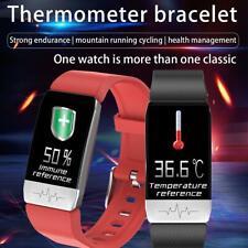 T1 Smart Watch Band mit Temperatur Immunmessung EKG Herzfrequenz Blutdruck