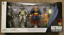DC Collectibles Batman The Dark Knight Returns 30th Anniversary 4 Figure Set NEW