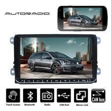 "9"" Autoradio Bluetooth MP5 Touchscreen USB 2 DIN Für VW GOLF 5 Passat Tiguan"