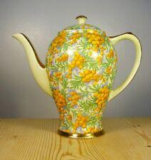Empire Porcelain Co. Golden Wattle Chintzware Coffee Pot
