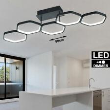 LED Ringe Design Decken Strahler Leuchte DIMMBAR Küchen Flur Lampe anthrazit