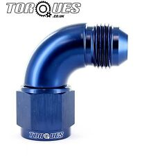AN -12 (12AN) 90 Degree Male to Female UltraFlow Adapter