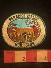 Full Embroidered Wildlife PARADISE VALLY GUN CLUB Hunting Patch 99K7
