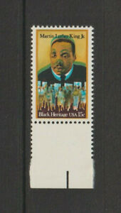 US EFO, ERROR Stamps: #1771 Martin Luther King Jr. Color shift. MNH