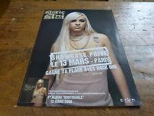 MARIE MAI - Publicité de magazine / Advert SHOWCASE PRIVE !!!!!!!!!