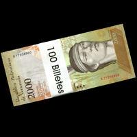【Brick】Lot 1000 PCS, Venezuela 2000 2,000 Bolivares, P-96, UNC, 10 bundles