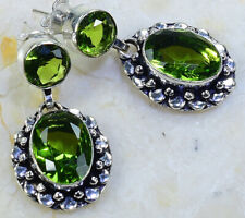 "1 1/2"" X52674 Peridot Earrings Stud"