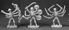 Reaper Miniatures Arachno Assassins (3 Pcs) #03481 Dark Heaven Unpainted Metal