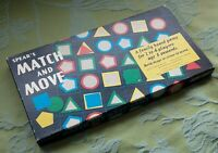 Match and Move Board Game Spear's 1972 100% Complete