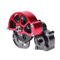 für RC AXIAL SCX10 Truck Alloy Getriebe, Voll Metall Getriebe mit Stahlgetr Z8S5