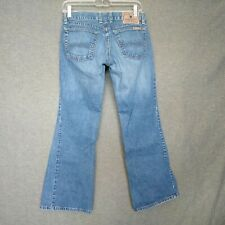 """Lucky Brand Maggie Ultra Low Rise BootCut Jeans Womens Sz 4/27 L29""""  Button Fly"""