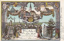Gruss aus Thannhausen Schwaben AK 1907 Mehrbild Bayern 1705099