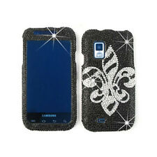 Samsung Galaxy S Fascinate i500 Snap On Case Saints On Black Diamond Hard Cover