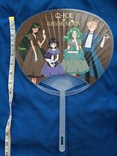 Sailor Moon Q-pot Qpot 2016 Uchiwa Fan Uranus Neptune Pluto Saturn Outer Senshi