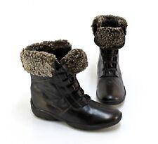Stiefeletten Winter Boots Schnürer Echtleder braun Gr. 38 G