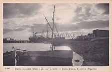 ARGENTINA - Bahia Blanca - Puerto Ingeniero White - Al Caer de la Tarde