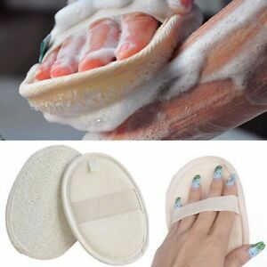 Body Natural Loofah Luffa Bath Shower Sponge Scrubber Exfoliator Washing Pad AU