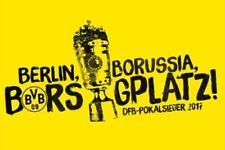 Fan-Fahnen/Wimpel von Borussia Dortmund Fußball-Kameras