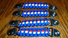 Vest extenders RED  WHITE and BLUE  para cord lightweight but STRONG!! By Stitch