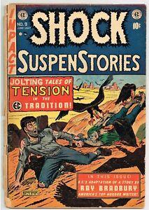 Shock Suspense Stories # 9 comic book 1953 EC Eaten by Vultures!