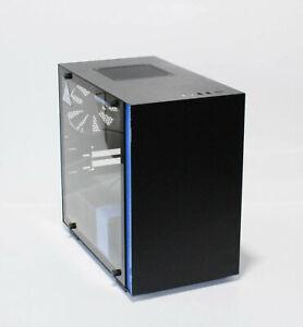 PC-Gehäuse NZXT H200i Schwarz/Blau (28TZ15)